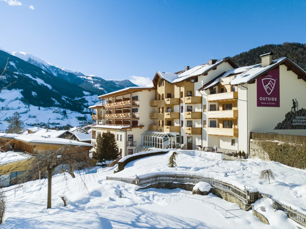 Photo of Hotel Outside in the snow