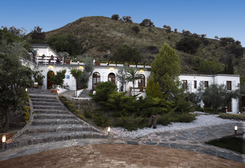Front view of the La Almunia del Valle in Spain as advertised by Kiwano Hotels