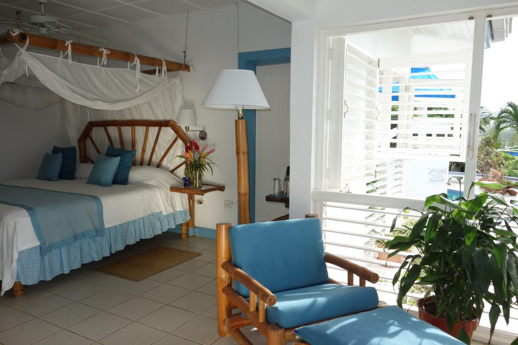 Superior room at the Hotel Mockingbird Hill in Jamaica as advertised by Kiwano Hotels